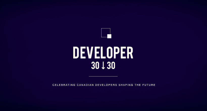 Developer 30 under 30 Awards